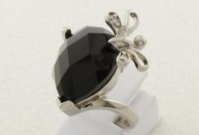 Дамски сребърен пръстен с циркони SD0077