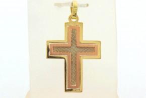 Златен кръст от жълто злато VKN0068