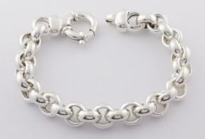Сребърна гривна SGR0041