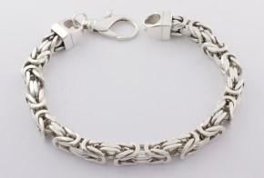 Сребърна гривна SGR0038
