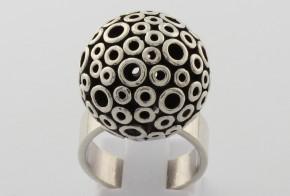 Дамски сребърен пръстен SD0054