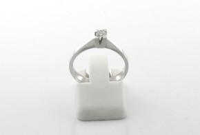 Годежен пръстен от бяло злато с диамант YZ82770