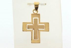 Златен кръст от жълто злато VKN0067