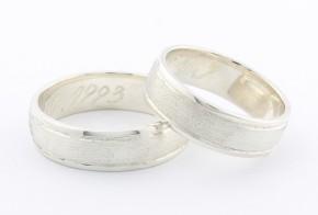 Брачни халки от сребро BH0292