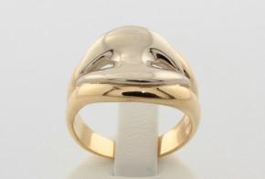 Дамски пръстен от бяло и жълто злато DD0022