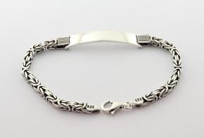 Сребърна гривна  SGR0092