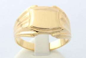 Мъжки пръстен от жълто злато MD0004
