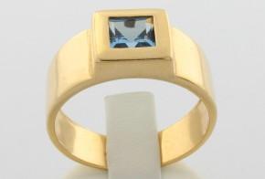 Мъжки пръстен от жълто злато MD0050