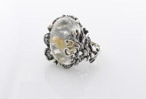 Дамски сребърен пръстен с косите на Венера SD0002