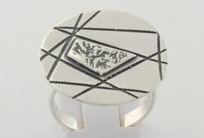 Дамски сребърен пръстен SD0048