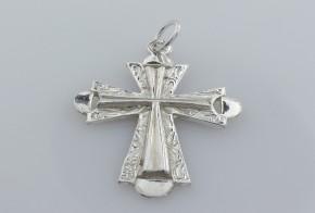 Сребърен кръст  VKS0010