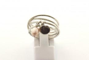 Дамски сребърен пръстен  SD0177