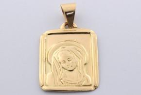 Златна висулка от   жълто злато  V0025