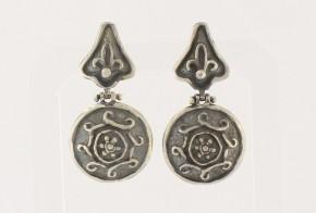 Сребърни обеци SO0064