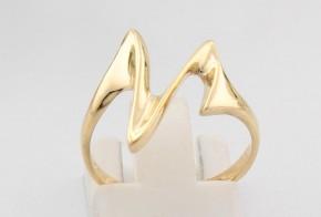 Дамски пръстен от жълто злато  DD0093