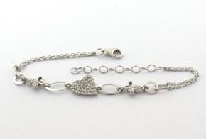 Сребърна гривна  SGR0096