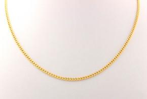 Златен синджир от жълто злато C0125