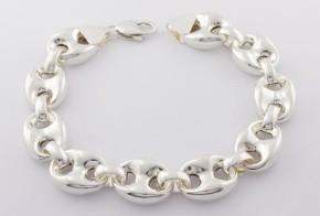 Сребърна гривна SGR0039