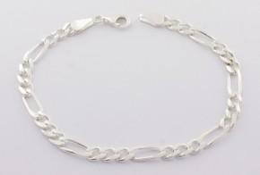 Сребърна гривна SGR0048