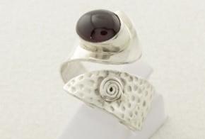 Дамски сребърен пръстен с циркон SD0079