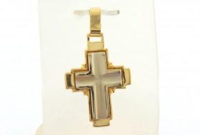 Златен кръст от жълто злато VKN0066
