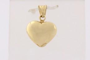 Златна висулка от жълто злато V0156
