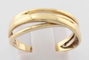 Дамски пръстен от жълто злато DD0133