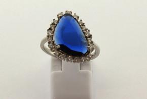 Дамски сребърен пръстен  SD0166