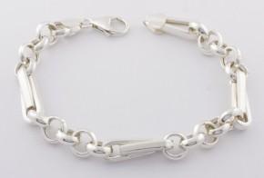 Сребърна гривна SGR0043