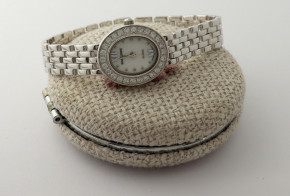 Сребърен дамски часовник CH0019