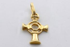 Златен кръст от  жълто злато VK0050