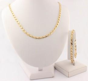Комплект от жълто злато K0056