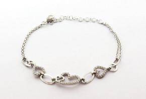 Сребърна гривна  SGR0095