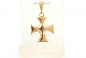 Златен кръст от жълто злато VKN0059