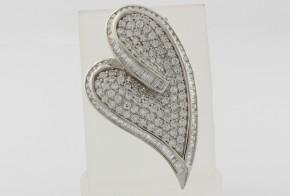 Сребърна висулка с циркони SV0038