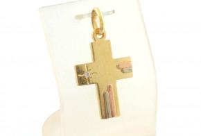 Златен кръст от жълто злато VKN0060