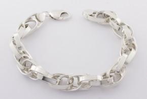 Сребърна гривна SGR0040
