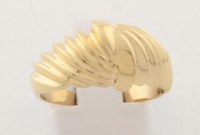 Дамски пръстен от жълто злато DD0179