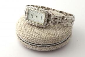 Сребърен дамски часовник CH0020