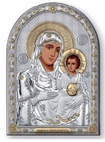 21238 Овал Св.Богородица Йеросалим 13Х18 см с позлата.