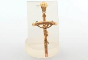 Златен кръст от жълто злато VKN0074