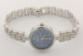 Дамски Сребърен часовник с циркони CH0014
