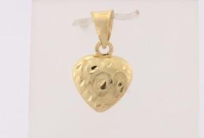 Златна висулка от жълто злато V0161