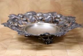 Сребърна купа за плодове SS0005