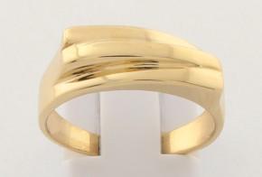 Дамски пръстен от жълто злато DD0182